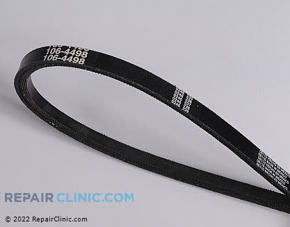 Belt: V-Belt, Toro Genuine OEM  106-4498 - $25.85