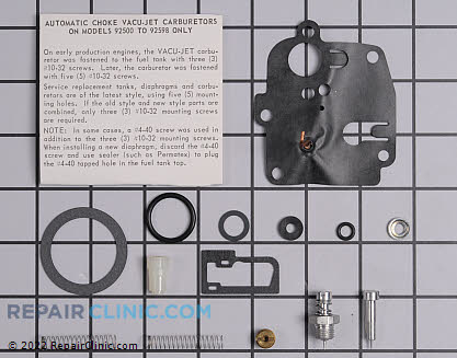 Carburetor, Briggs & Stratton Genuine OEM  494623