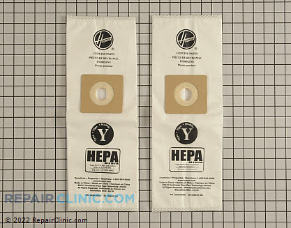 Vacuum Bag (OEM)  AH10040 - $10.25