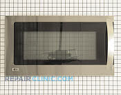Microwave Oven Door - Part # 1525717 Mfg Part # ADC49436906