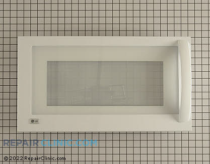 Microwave Oven Door (OEM)  ADC49436904