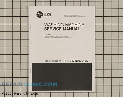 Repair Manual 3828ER3048Q     Main Product View