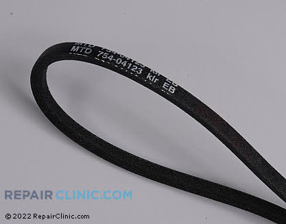 Belt: V-Belt 954-04123 Main Product View
