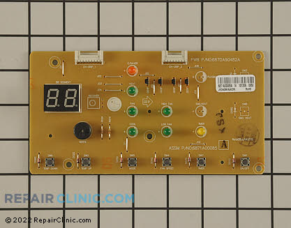 User Control and Display Board (OEM)  6871A00085A - $27.85