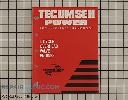 Repair Manual, Tecumseh Genuine OEM  695244A - $10.85