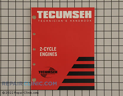 Repair Manual, Tecumseh Genuine OEM  740047