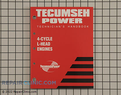 Repair Manual, Tecumseh Genuine OEM  740049