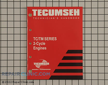 Repair Manual, Tecumseh Genuine OEM  740109
