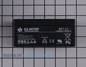 Battery - Part # 1637511 Mfg Part # 106-8397