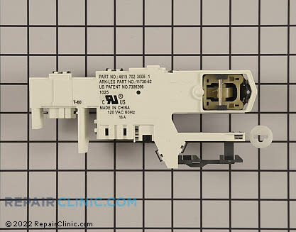 Whirlpool Door Lock Latch Assembly