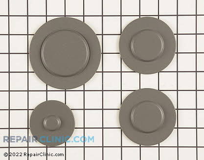 Surface Burner Cap (OEM)  W10244448