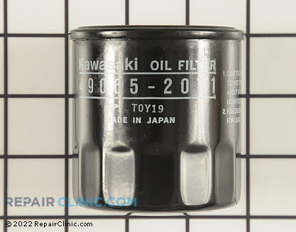 Oil Filter, Kawasaki Genuine OEM  49065-2071