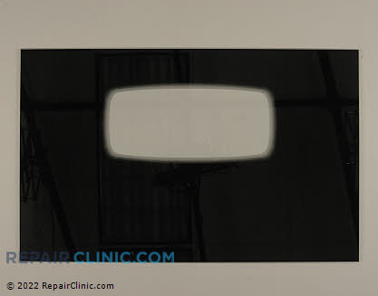 Oven Door Glass (OEM)  12002362, 1066796
