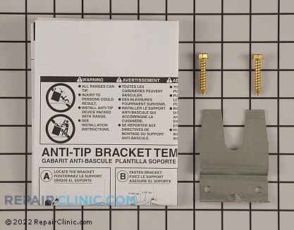 Anti-Tip Bracket (OEM)  5304469772