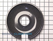 8 Inch Burner Drip Bowl - Part # 258159 Mfg Part # WB32X103