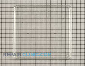 Glass tray - Part # 261617 Mfg Part # WB49X5480