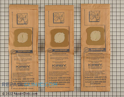 Vacuum Bag 197201 Main Product View