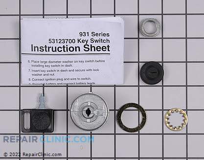 Start Switch, Ariens Genuine OEM  53123700