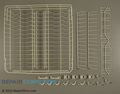 Upper Dishrack Assembly (OEM)  8193943, 1028766