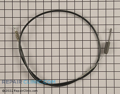 Control Cable, Honda Power Equipment Genuine OEM  54510-VG4-D01, 1796349