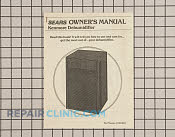 Owner's Manual - Part # 621210 Mfg Part # 5303211047