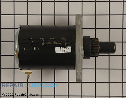 Starter Motor, Tecumseh Genuine OEM  36795
