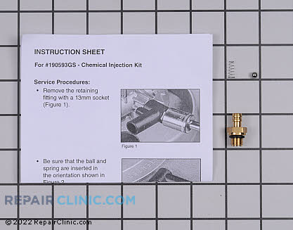 Chemical Injection Kit 190593GS        Main Product View