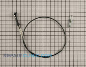 Control Cable - Part # 1637604 Mfg Part # 115-8439