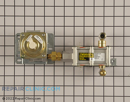 Oven Valve and Pressure Regulator 12002227        Main Product View