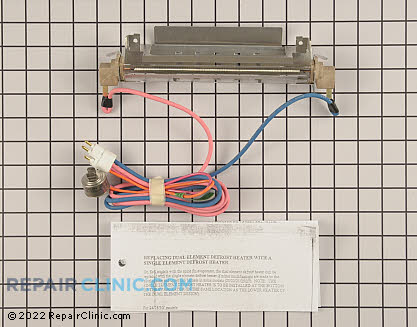Defrost Heater Assembly (OEM)  WR51X10031, 773802