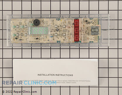 Oven Control Board WB27X10311 Main Product View