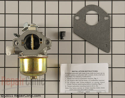 Carburetor, Briggs & Stratton Genuine OEM  499158, 1641849