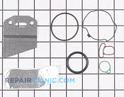 Gasket Set - Part # 1995766 Mfg Part # 530071458