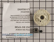 Recoil Starter - Part # 1987586 Mfg Part # 530069313