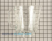 Glass Jar - Part # 1551734 Mfg Part # W10221782