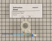 Evaporator Fan Motor - Part # 997936 Mfg Part # 12002054