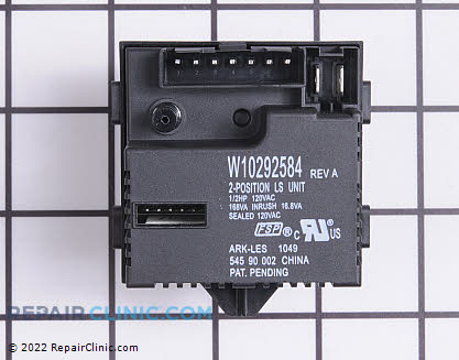 Pressure Switch W10292584 Main Product View