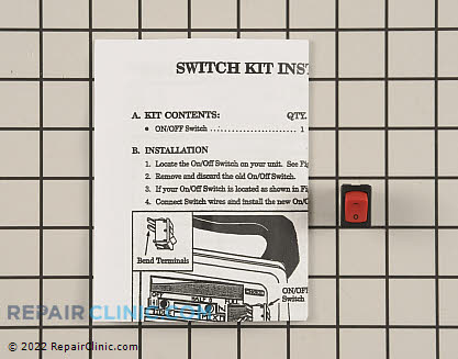 Switch  Kit 530069572 Main Product View