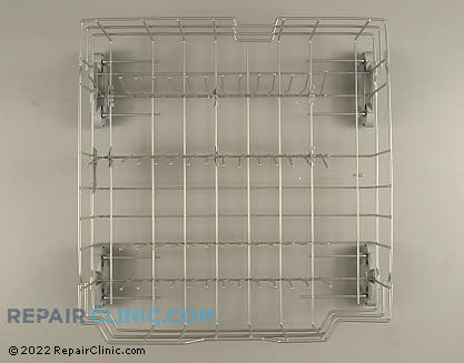 Lower Dishrack Assembly (OEM)  WD28X10331