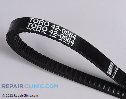 Belt: V-Belt, Toro Genuine OEM  42-0884