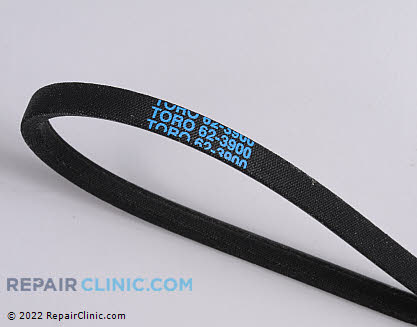 Belt: V-Belt, Toro Genuine OEM  62-3900