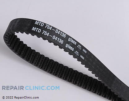 Cogged Belt (Genuine OEM)  754-04136 - $47.05