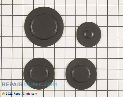Surface Burner Cap (OEM)  W10244447