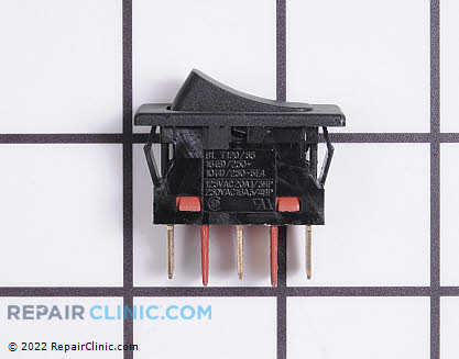 Whirlpool Range Vent Hood Rocker Switch