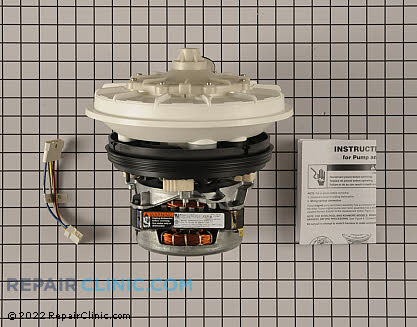 Kitchenaid Dishwasher Pump and Motor Assembly
