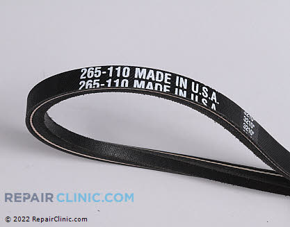 Belt: V-Belt 265-110