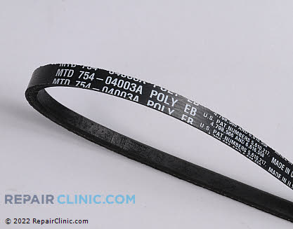 Belt: V-Belt (Genuine OEM)  954-04003A