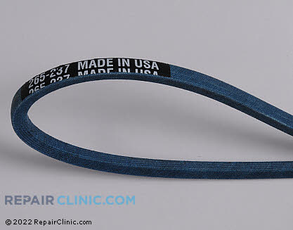 Belt: V-Belt 265-237