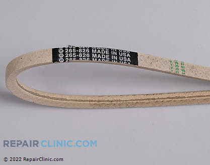 Belt: V-Belt 265-826, 1617227