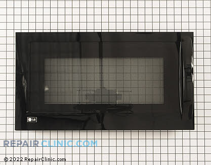 Lg Complete Microwave Oven Door Assembly